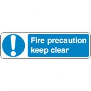 Mandatory Safety Sign - Fire Precaution 060